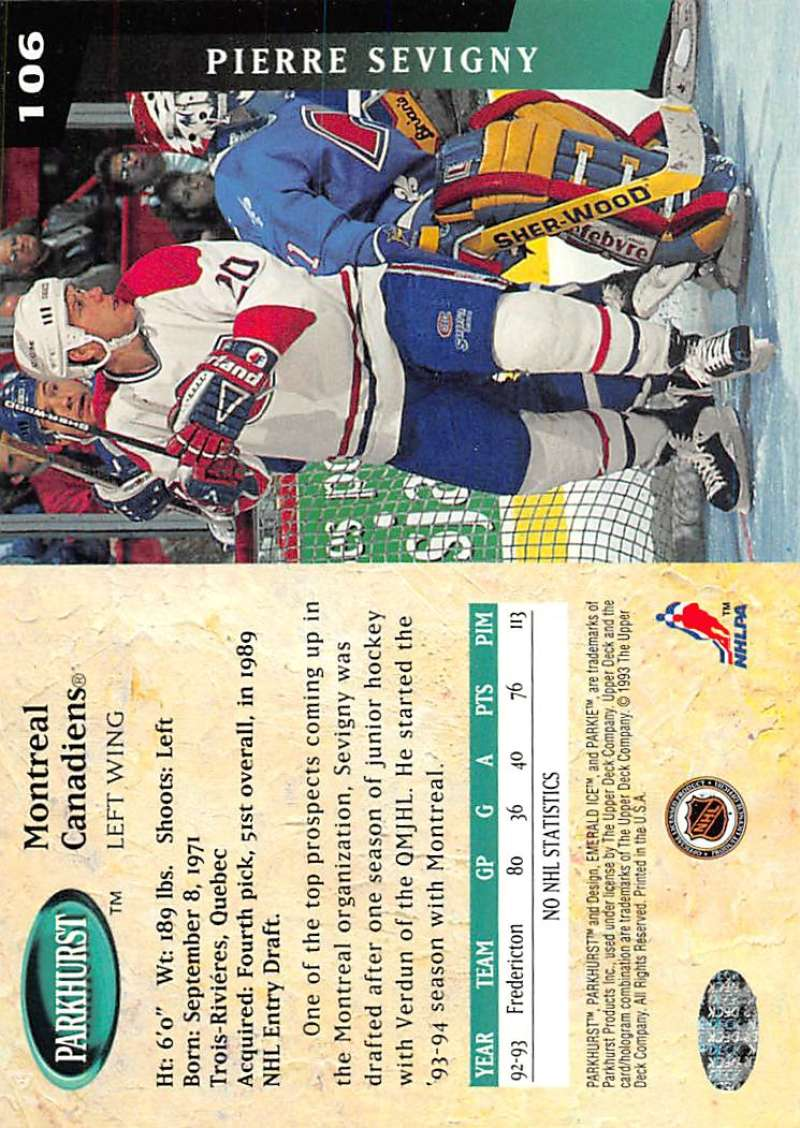1993-94-Parkhurst-Emerald-Ice-Hockey-Cards-Pick-From-List-1-200 thumbnail 127