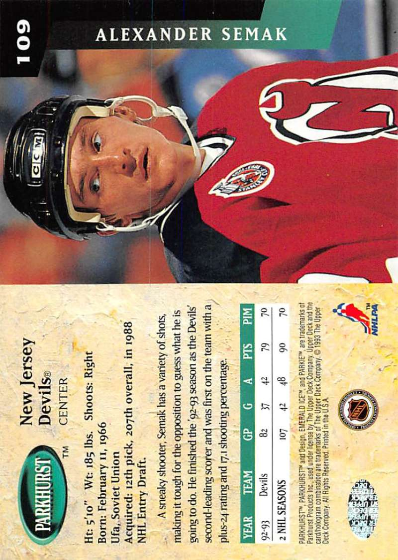 1993-94-Parkhurst-Emerald-Ice-Hockey-Cards-Pick-From-List-1-200 thumbnail 131