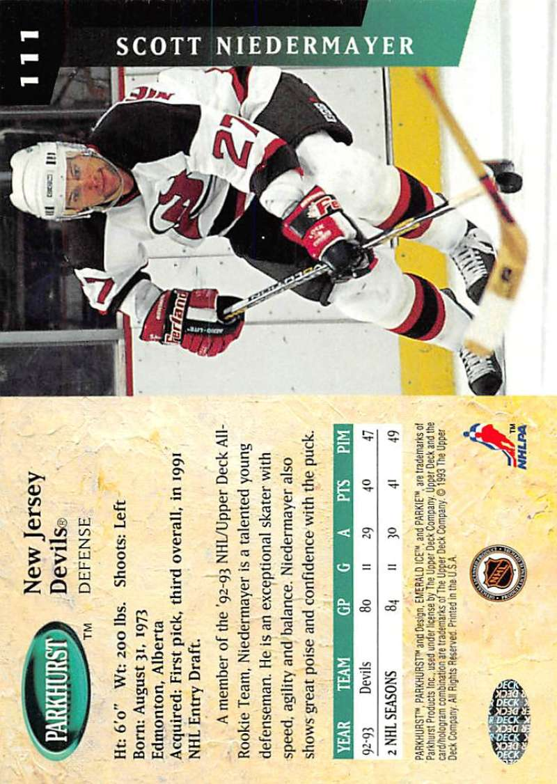 1993-94-Parkhurst-Emerald-Ice-Hockey-Cards-Pick-From-List-1-200 thumbnail 135
