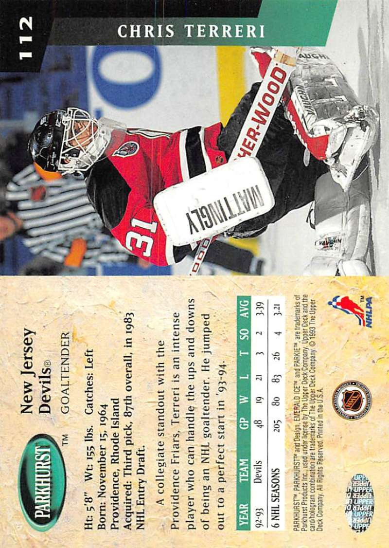 1993-94-Parkhurst-Emerald-Ice-Hockey-Cards-Pick-From-List-1-200 thumbnail 137