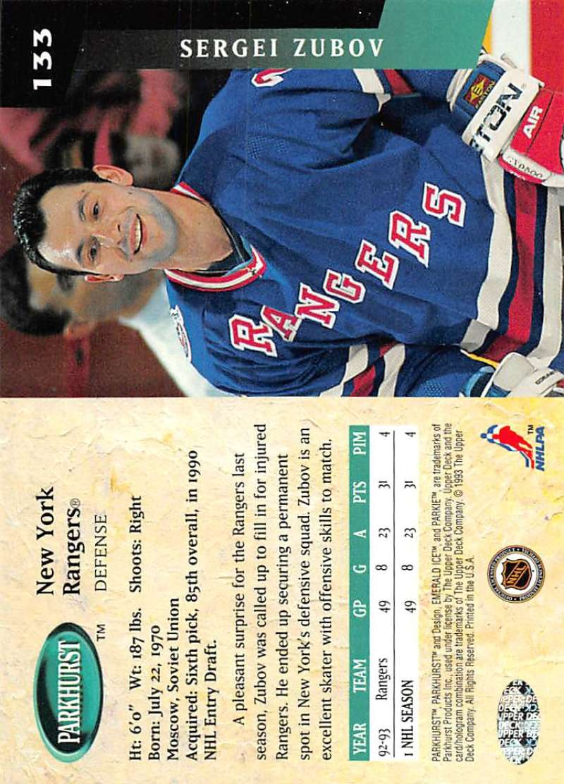 1993-94-Parkhurst-Emerald-Ice-Hockey-Cards-Pick-From-List-1-200 thumbnail 159