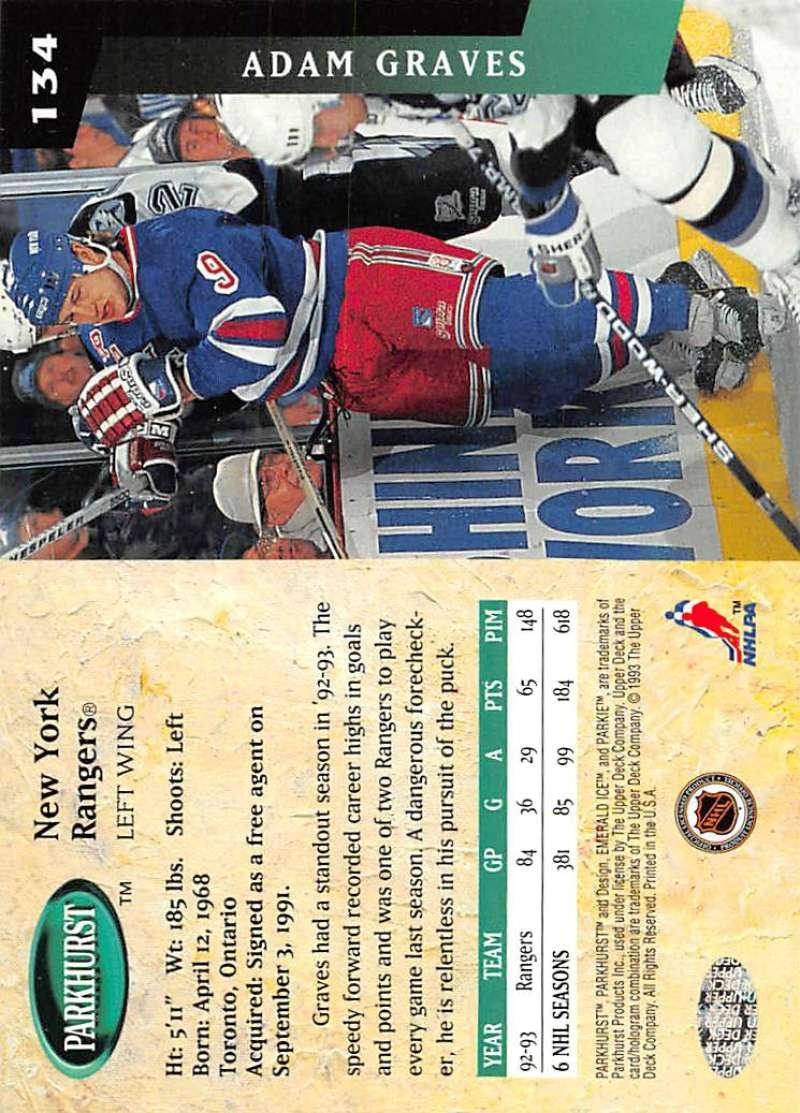 1993-94-Parkhurst-Emerald-Ice-Hockey-Cards-Pick-From-List-1-200 thumbnail 161
