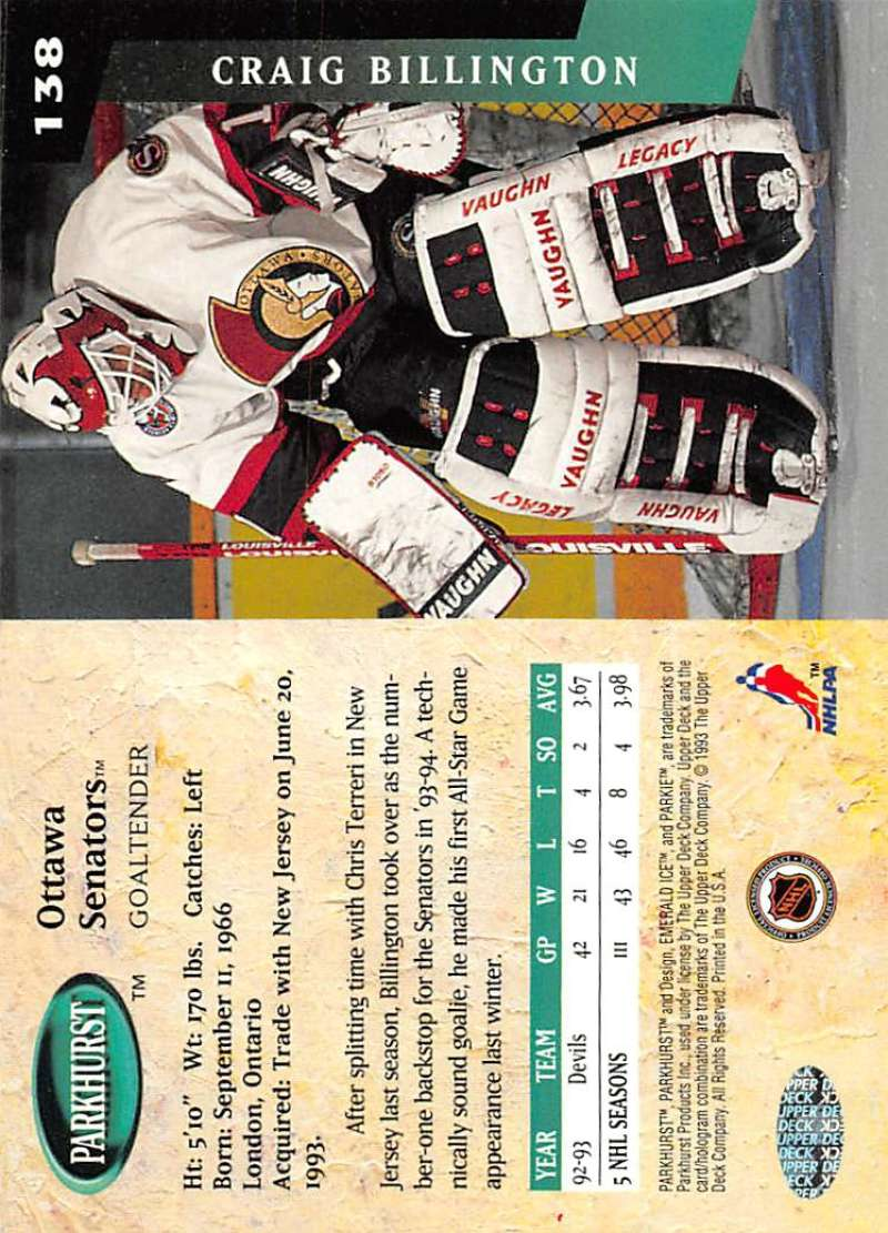 1993-94-Parkhurst-Emerald-Ice-Hockey-Cards-Pick-From-List-1-200 thumbnail 165
