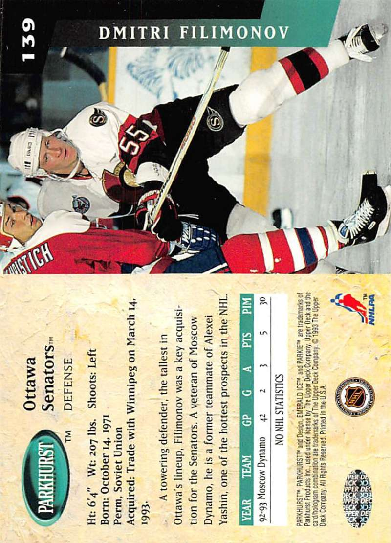 1993-94-Parkhurst-Emerald-Ice-Hockey-Cards-Pick-From-List-1-200 thumbnail 167