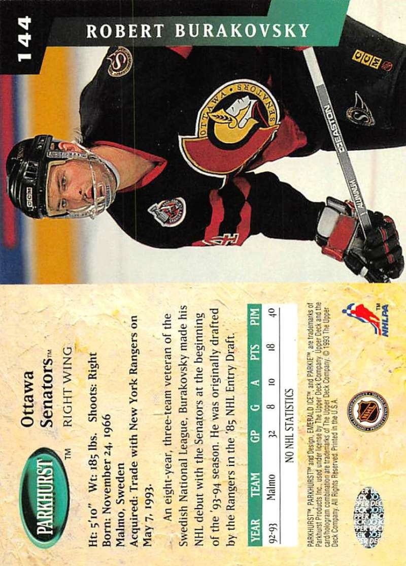 1993-94-Parkhurst-Emerald-Ice-Hockey-Cards-Pick-From-List-1-200 thumbnail 173