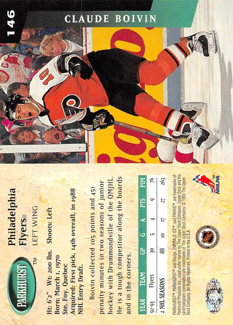 1993-94-Parkhurst-Emerald-Ice-Hockey-Cards-Pick-From-List-1-200 thumbnail 175