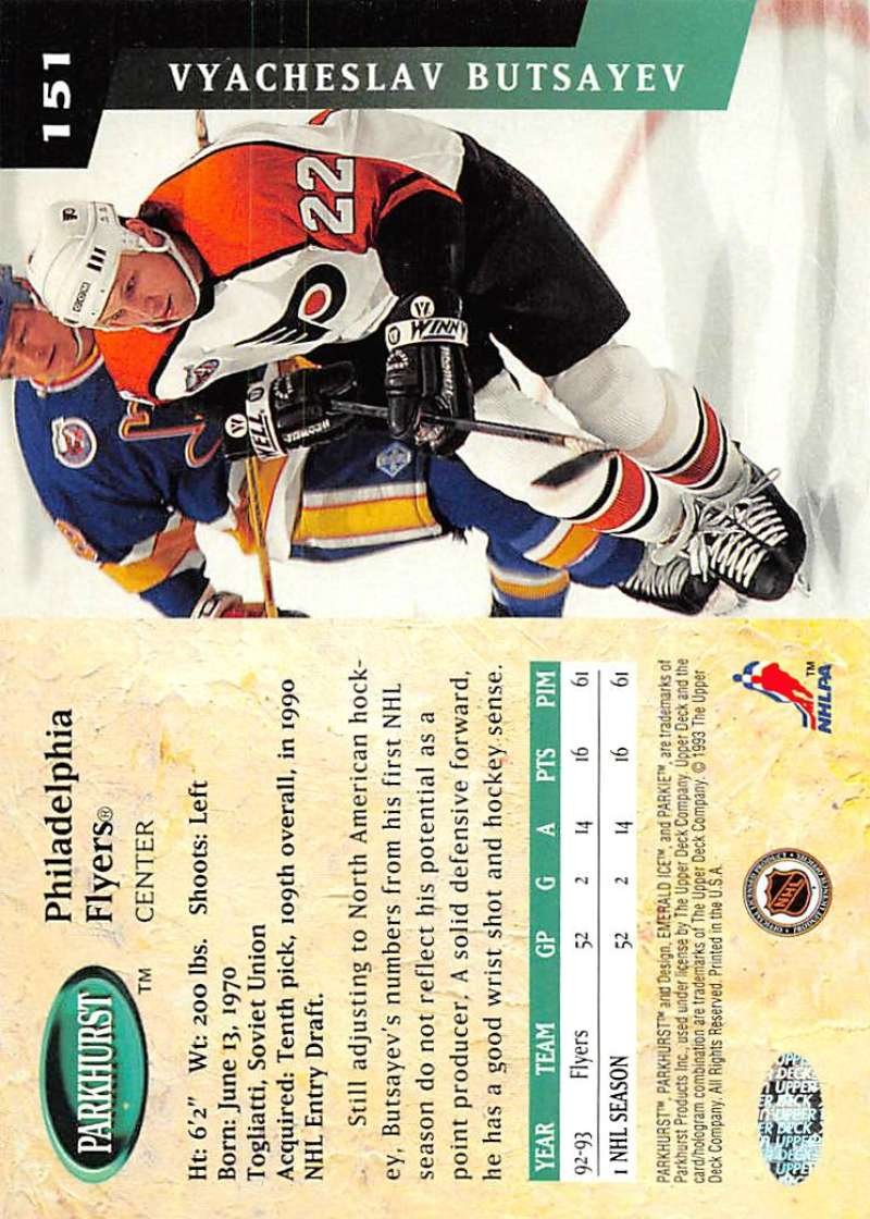 1993-94-Parkhurst-Emerald-Ice-Hockey-Cards-Pick-From-List-1-200 thumbnail 183