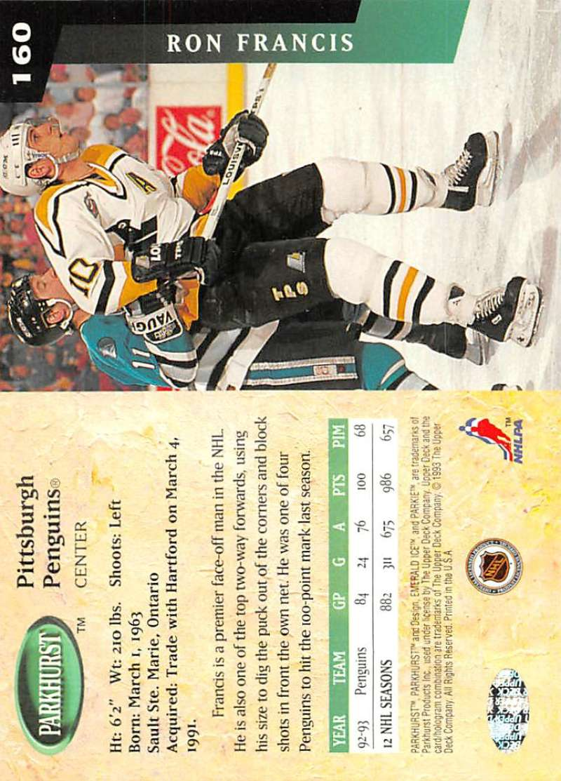 1993-94-Parkhurst-Emerald-Ice-Hockey-Cards-Pick-From-List-1-200 thumbnail 189