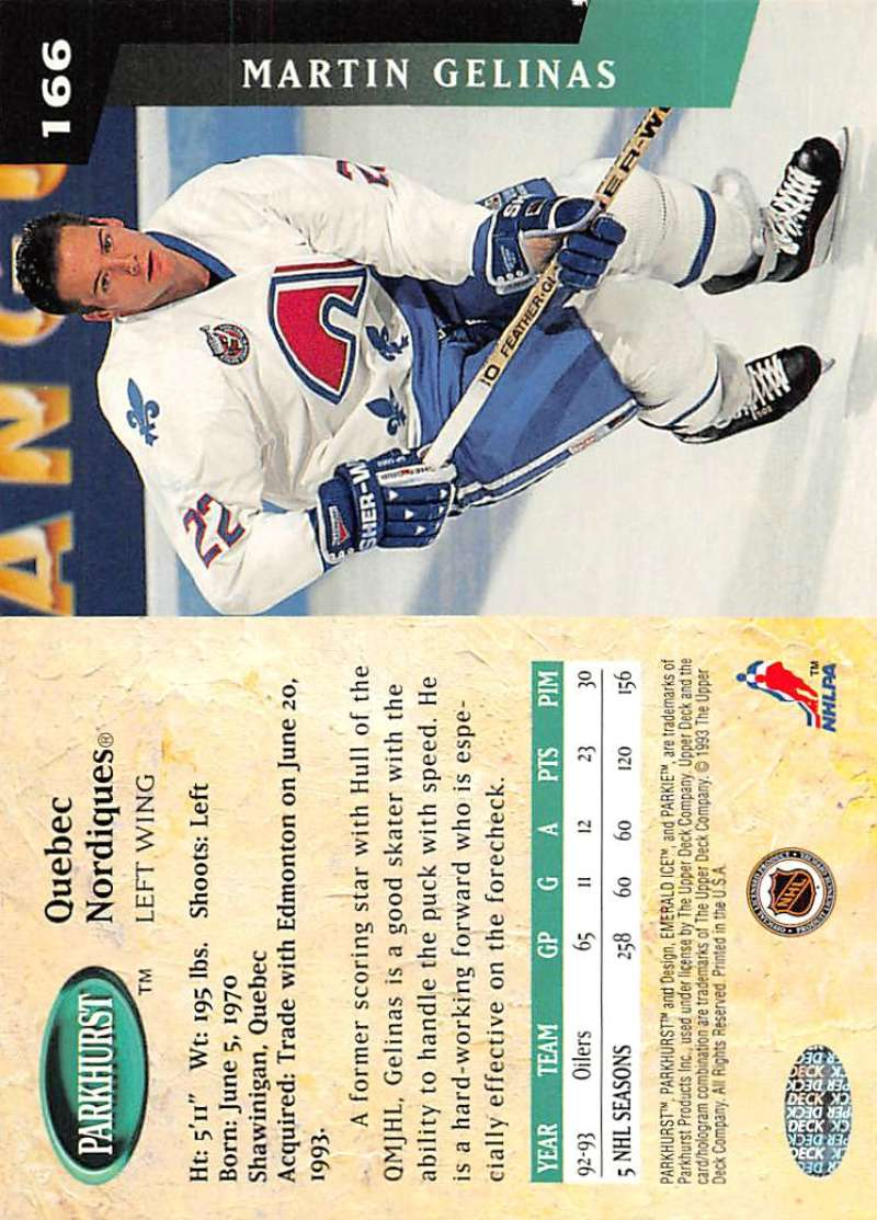 1993-94-Parkhurst-Emerald-Ice-Hockey-Cards-Pick-From-List-1-200 thumbnail 193