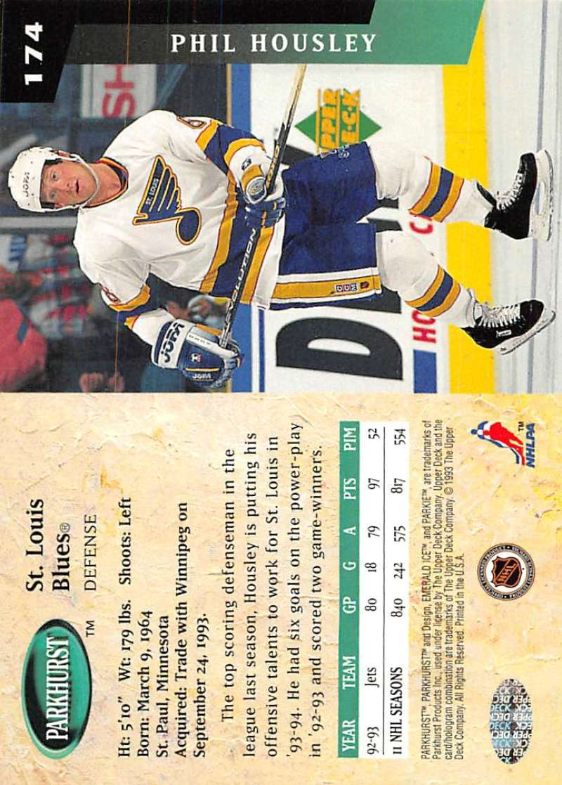 1993-94-Parkhurst-Emerald-Ice-Hockey-Cards-Pick-From-List-1-200 thumbnail 201