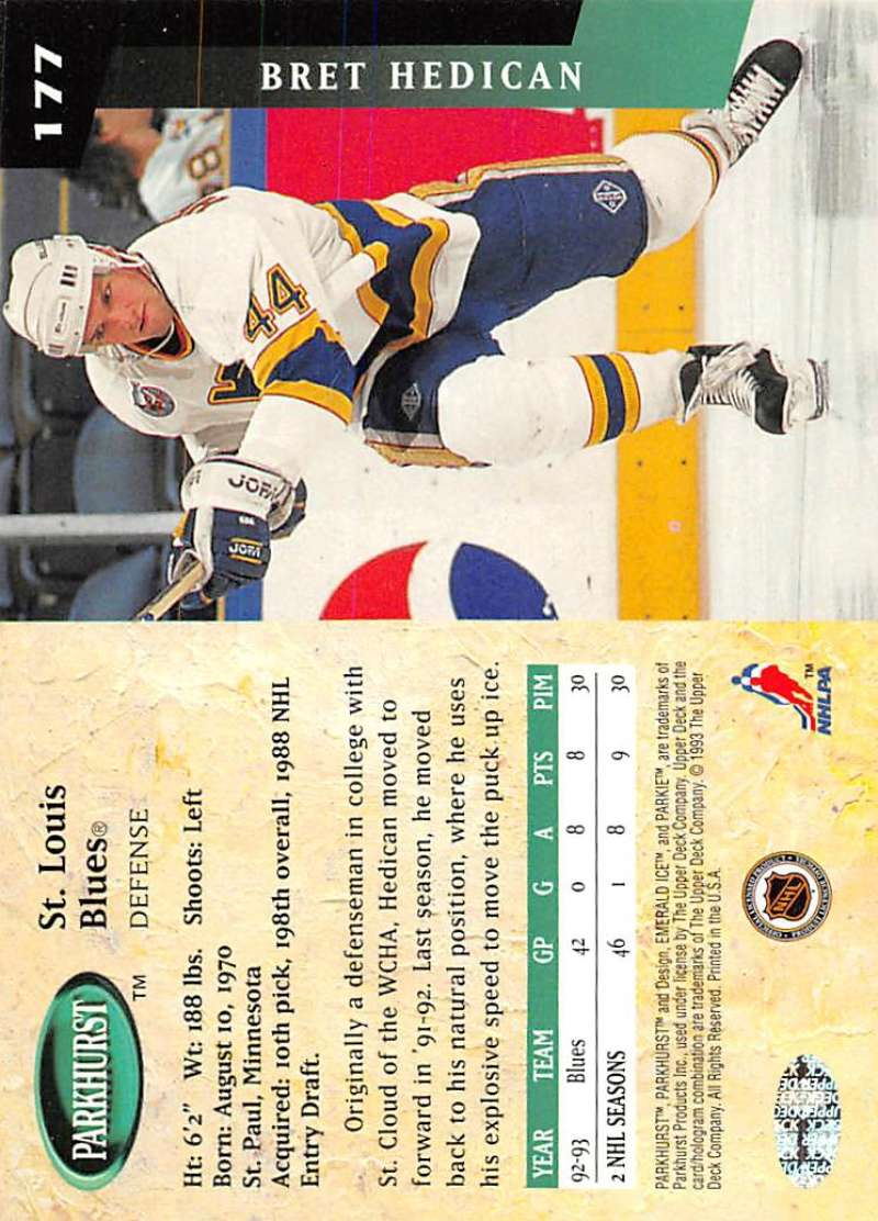 1993-94-Parkhurst-Emerald-Ice-Hockey-Cards-Pick-From-List-1-200 thumbnail 203