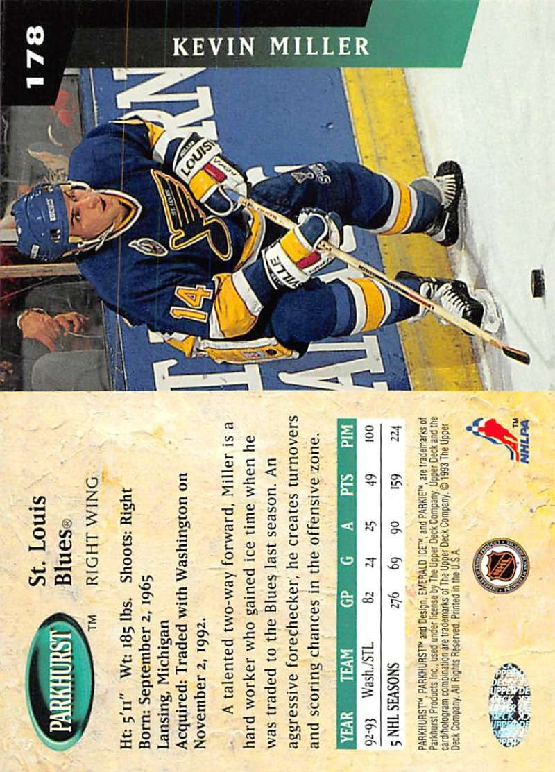 1993-94-Parkhurst-Emerald-Ice-Hockey-Cards-Pick-From-List-1-200 thumbnail 205