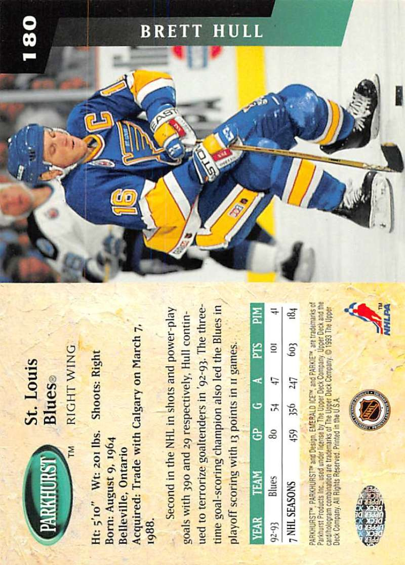 1993-94-Parkhurst-Emerald-Ice-Hockey-Cards-Pick-From-List-1-200 thumbnail 207