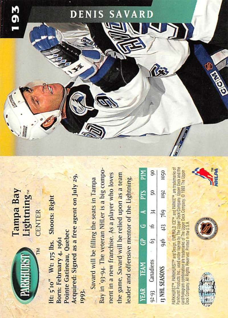1993-94-Parkhurst-Emerald-Ice-Hockey-Cards-Pick-From-List-1-200 thumbnail 215