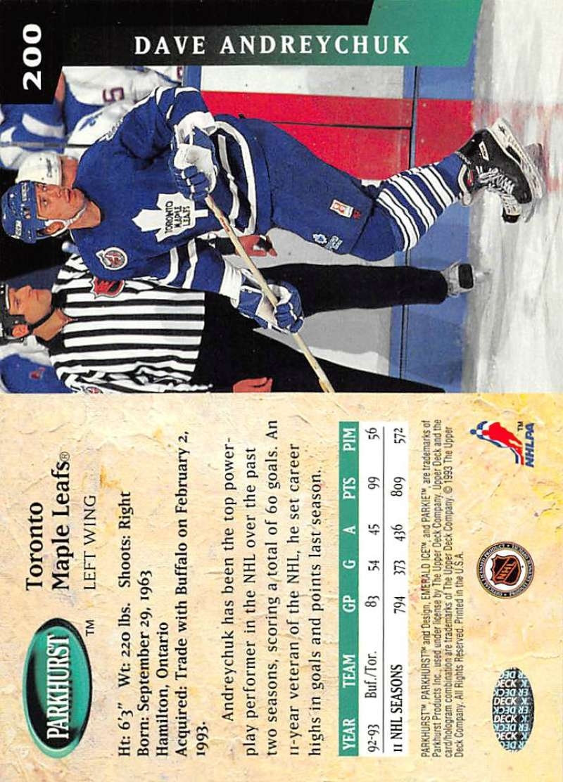 1993-94-Parkhurst-Emerald-Ice-Hockey-Cards-Pick-From-List-1-200 thumbnail 223