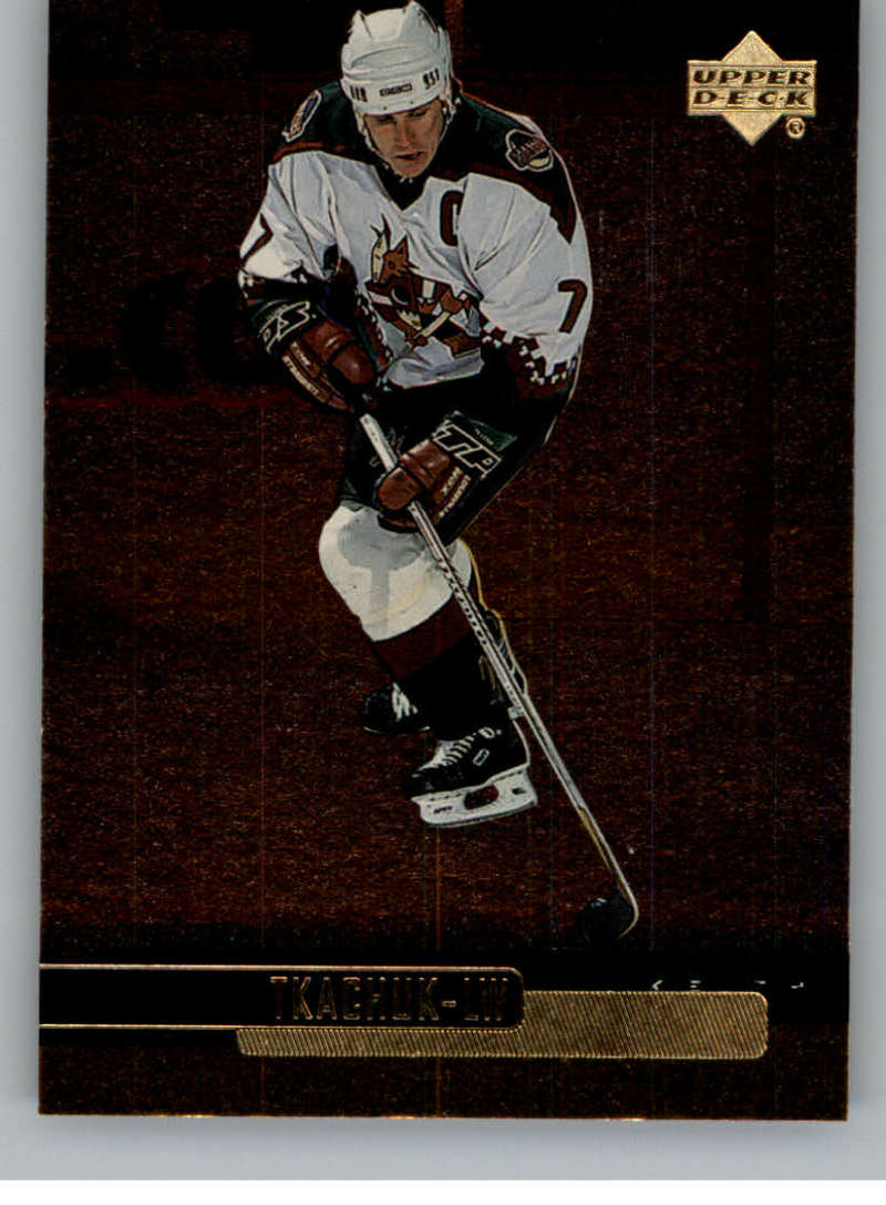 1999-00 Upper Deck Gold Reserve Official NHL Hockey Card #100 Keith Tkachuk NM-MT Phoenix Coyotes  UD Hockey Card