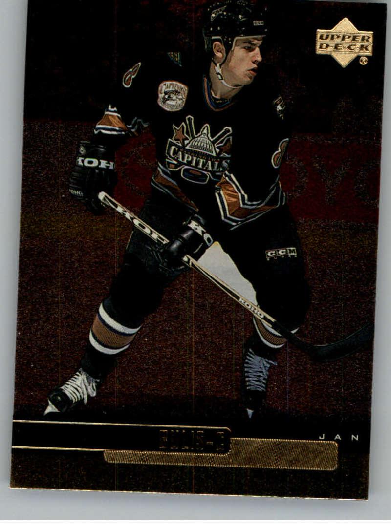 1999-00 Upper Deck Gold Reserve Official NHL Hockey Card #133 Jan Bulis NM-MT Washington Capitals  UD Hockey Card