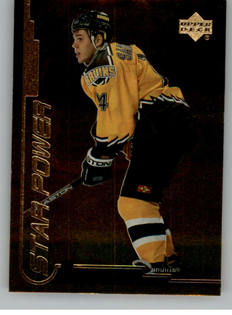 1999-00 Upper Deck Gold Reserve Official NHL Hockey Card #143 Sergei Samsonov NM-MT SP Short Print Boston Bruins  UD Hockey Card