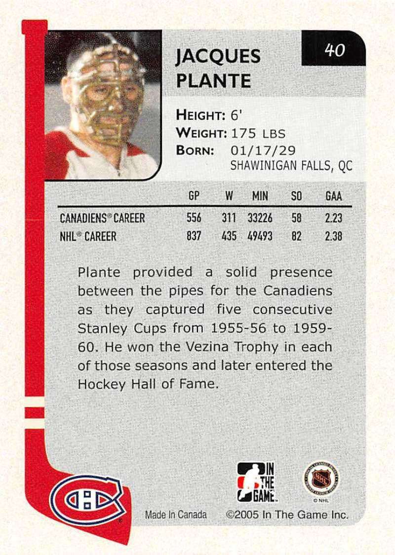 2004-05-ITG-In-The-Game-Franchises-Hockey-Cards-Pick-From-List-1-250 thumbnail 75