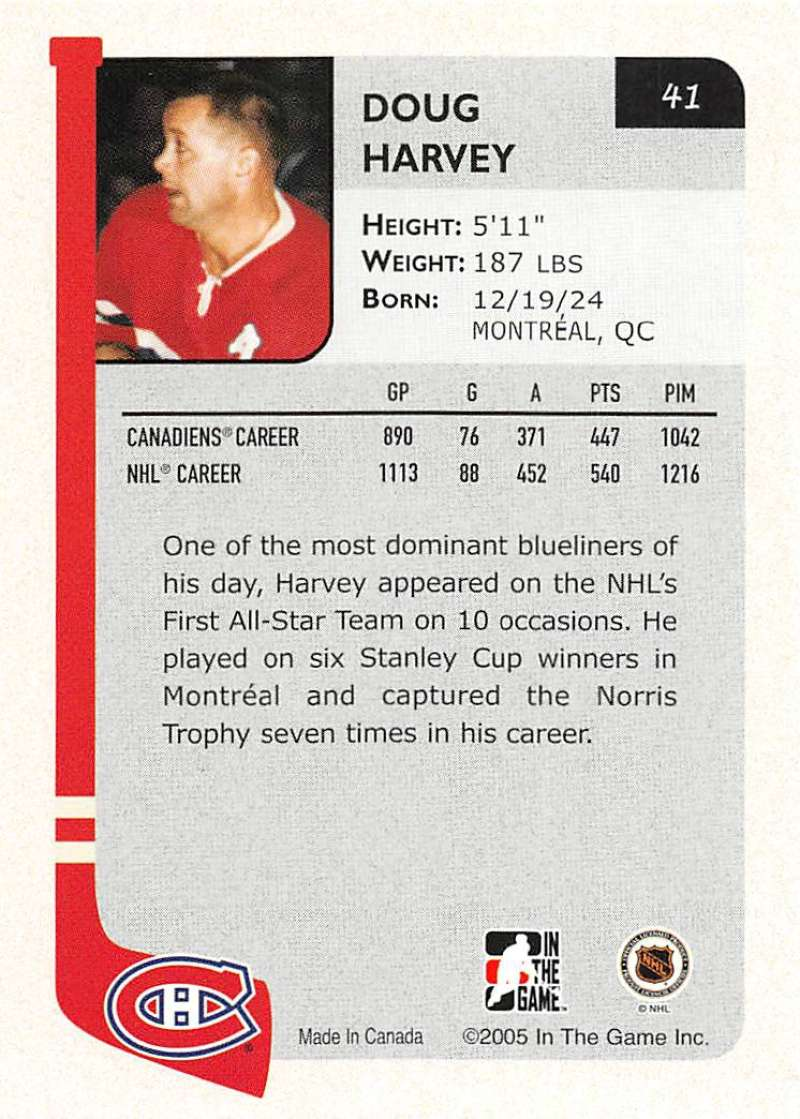 2004-05-ITG-In-The-Game-Franchises-Hockey-Cards-Pick-From-List-1-250 thumbnail 77