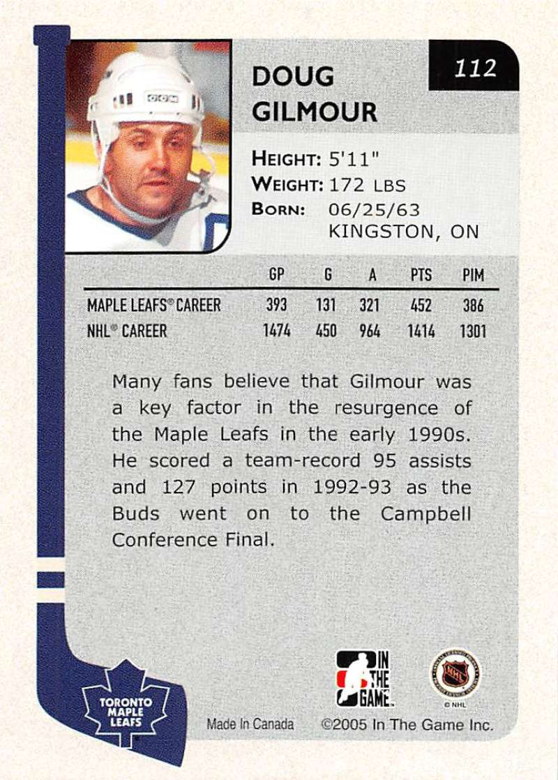 2004-05-ITG-In-The-Game-Franchises-Hockey-Cards-Pick-From-List-1-250 thumbnail 189