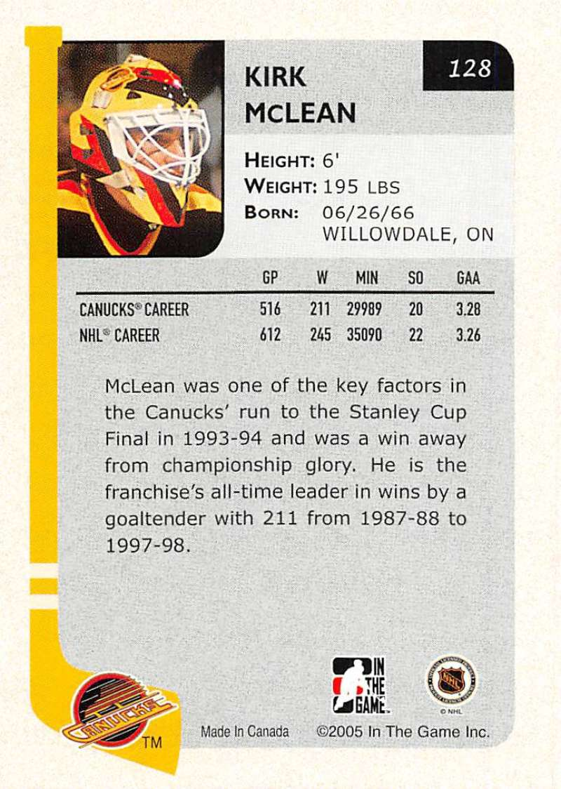 2004-05-ITG-In-The-Game-Franchises-Hockey-Cards-Pick-From-List-1-250 thumbnail 219