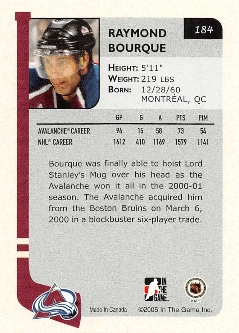 2004-05-ITG-In-The-Game-Franchises-Hockey-Cards-Pick-From-List-1-250 thumbnail 305