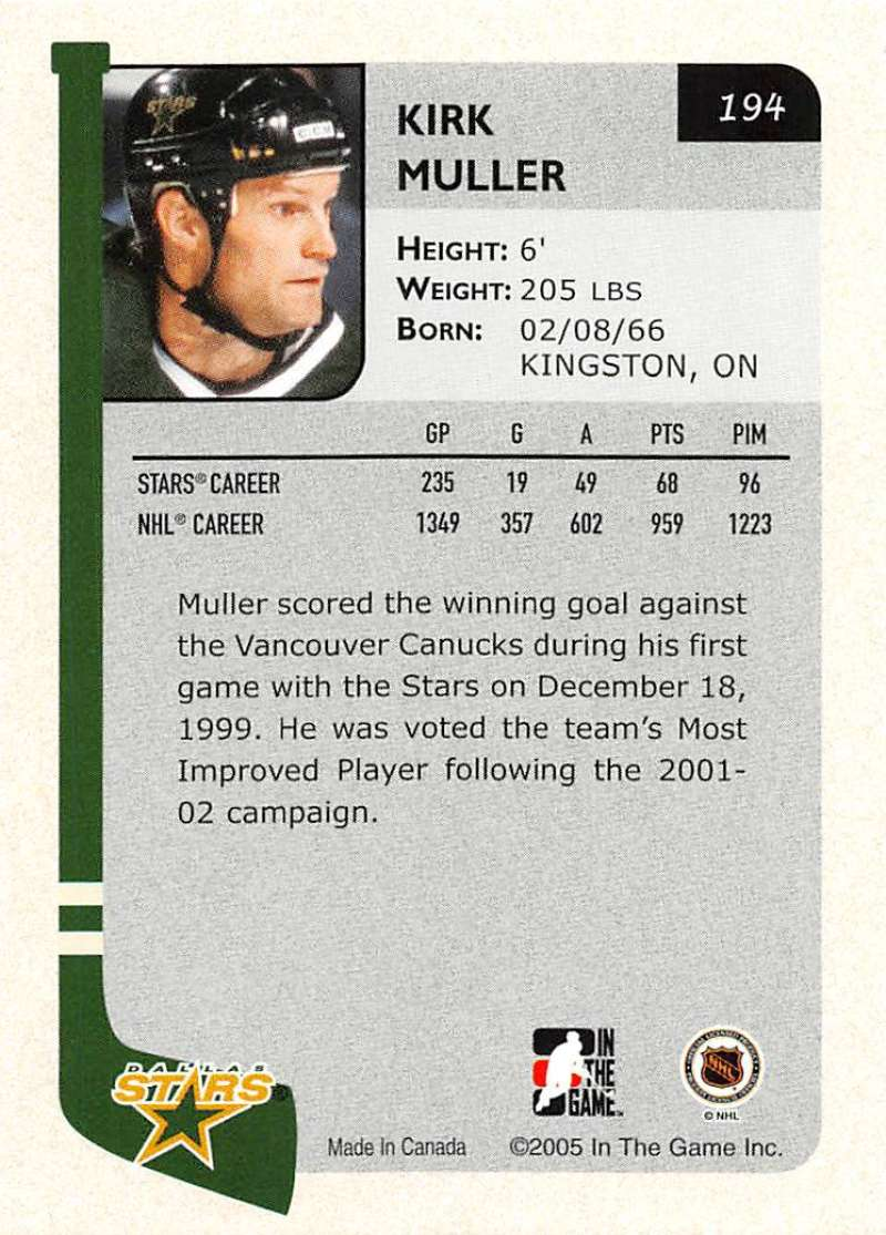 2004-05-ITG-In-The-Game-Franchises-Hockey-Cards-Pick-From-List-1-250 thumbnail 319