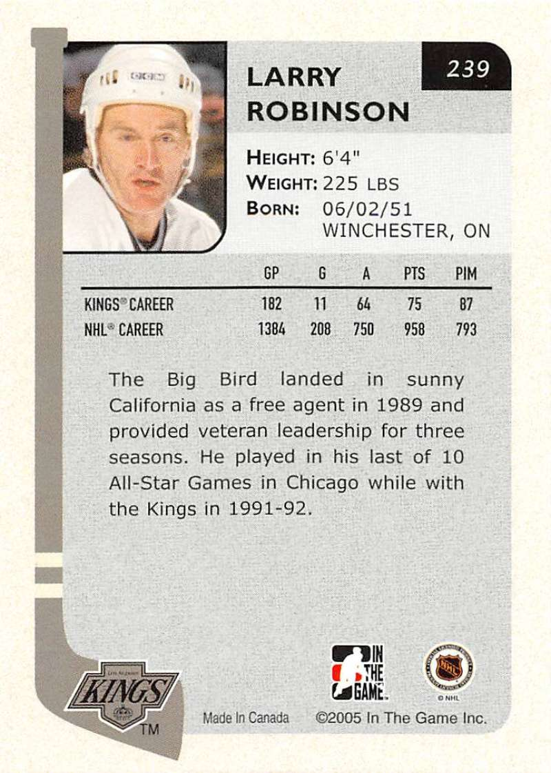 2004-05-ITG-In-The-Game-Franchises-Hockey-Cards-Pick-From-List-1-250 thumbnail 377
