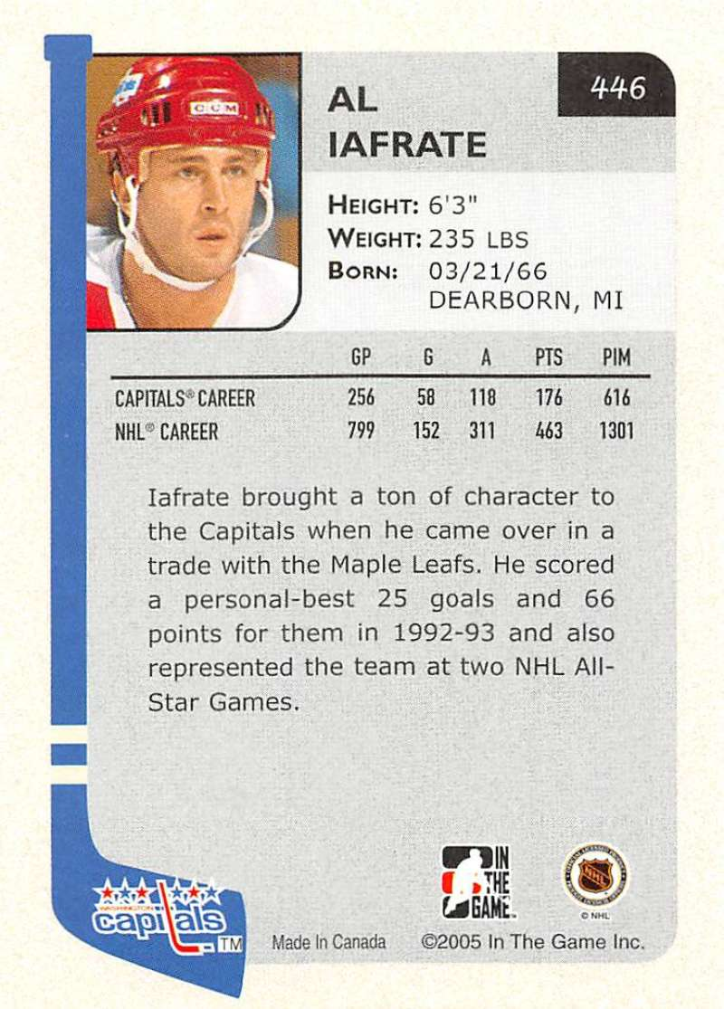 2004-05-ITG-In-The-Game-Franchises-Hockey-Cards-Pick-From-List-251-500 thumbnail 225
