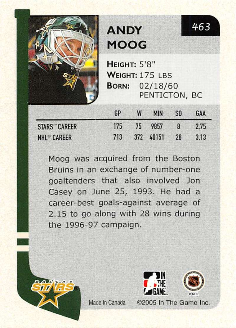 2004-05-ITG-In-The-Game-Franchises-Hockey-Cards-Pick-From-List-251-500 thumbnail 253