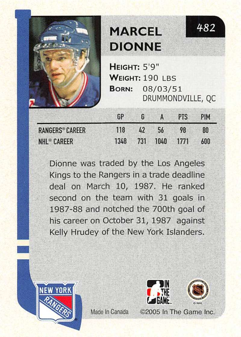 2004-05-ITG-In-The-Game-Franchises-Hockey-Cards-Pick-From-List-251-500 thumbnail 283