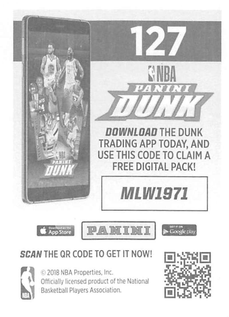 2018-19-Panini-NBA-Basketball-Sticker-Collection-Pick-From-List-1-250 thumbnail 249