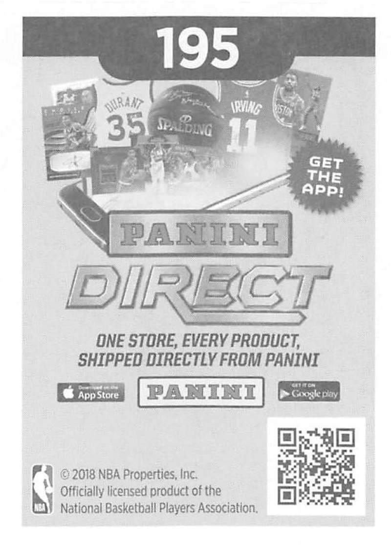 2018-19-Panini-NBA-Basketball-Sticker-Collection-Pick-From-List-1-250 thumbnail 377