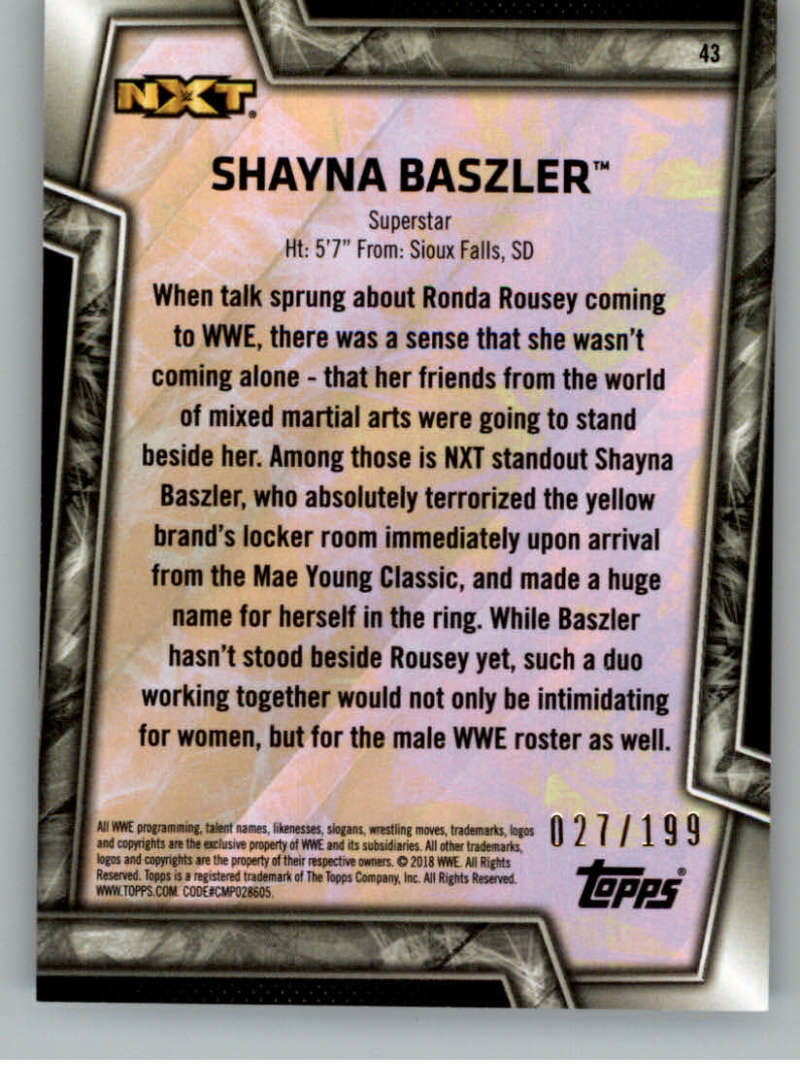 2018-Topps-WWE-Women-039-s-Division-Evolution-Autographs-Base-Bronze-Pick-From-List thumbnail 5