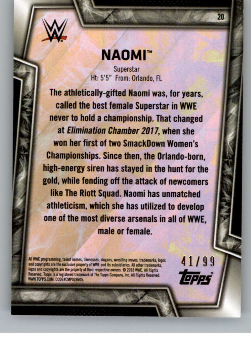 2018-Topps-WWE-Women-039-s-Division-Evolution-Autographs-Base-Bronze-Pick-From-List thumbnail 13