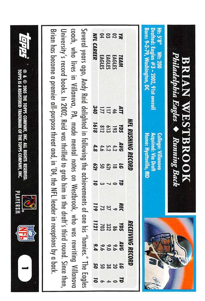 2005-Topps-NFL-Football-Cards-Pick-From-List-1-220 thumbnail 3