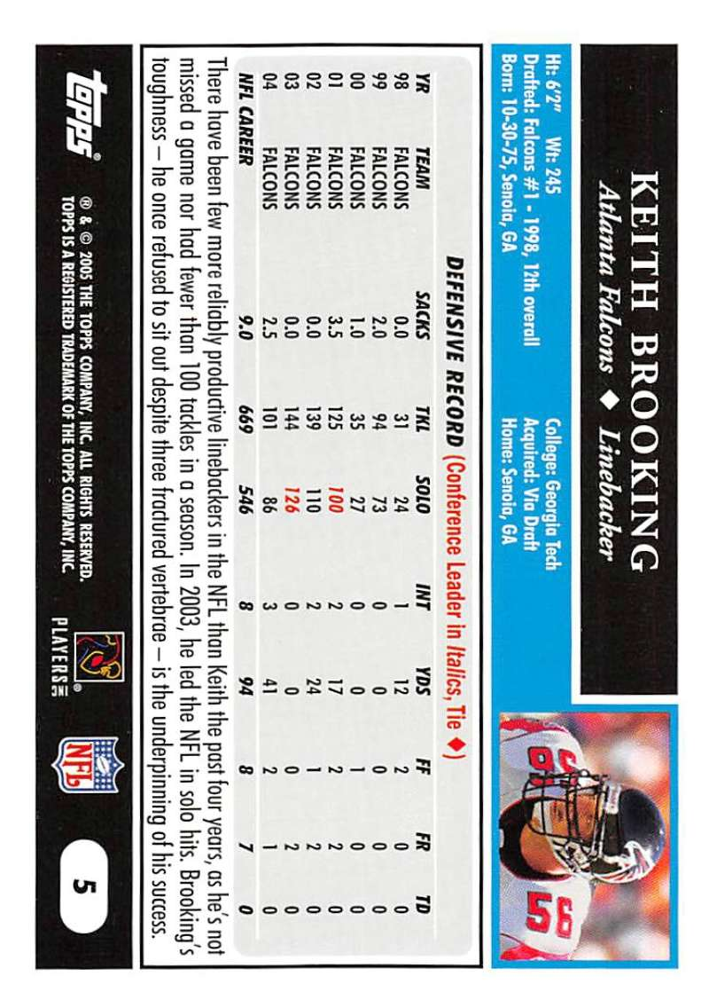 2005-Topps-NFL-Football-Cards-Pick-From-List-1-220 thumbnail 11