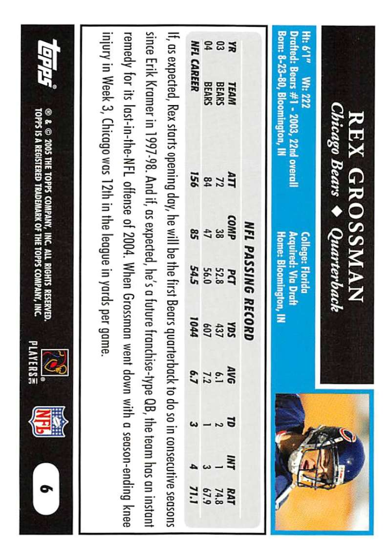 2005-Topps-NFL-Football-Cards-Pick-From-List-1-220 thumbnail 13