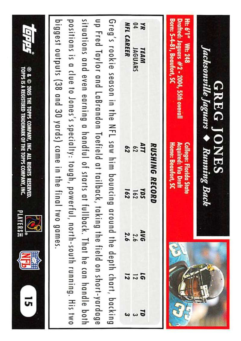 2005-Topps-NFL-Football-Cards-Pick-From-List-1-220 thumbnail 29