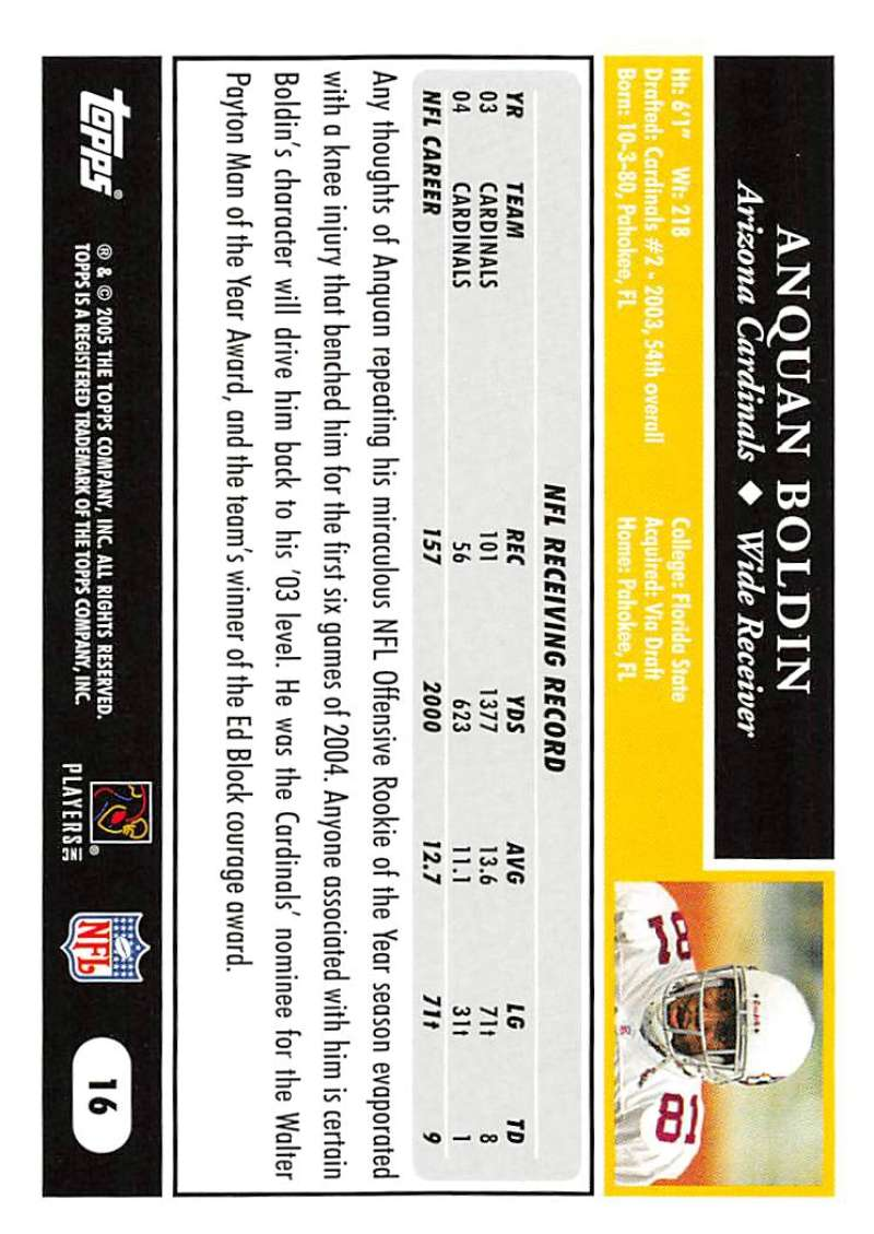 2005-Topps-NFL-Football-Cards-Pick-From-List-1-220 thumbnail 31
