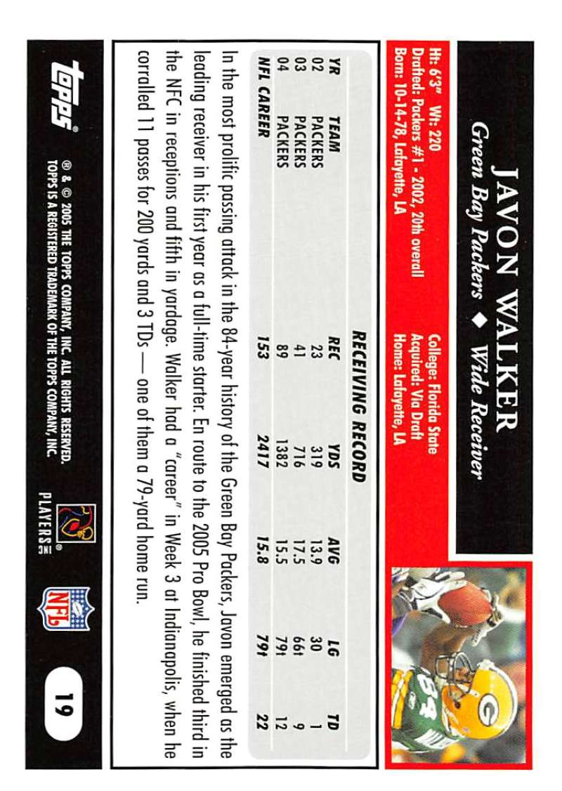 2005-Topps-NFL-Football-Cards-Pick-From-List-1-220 thumbnail 37