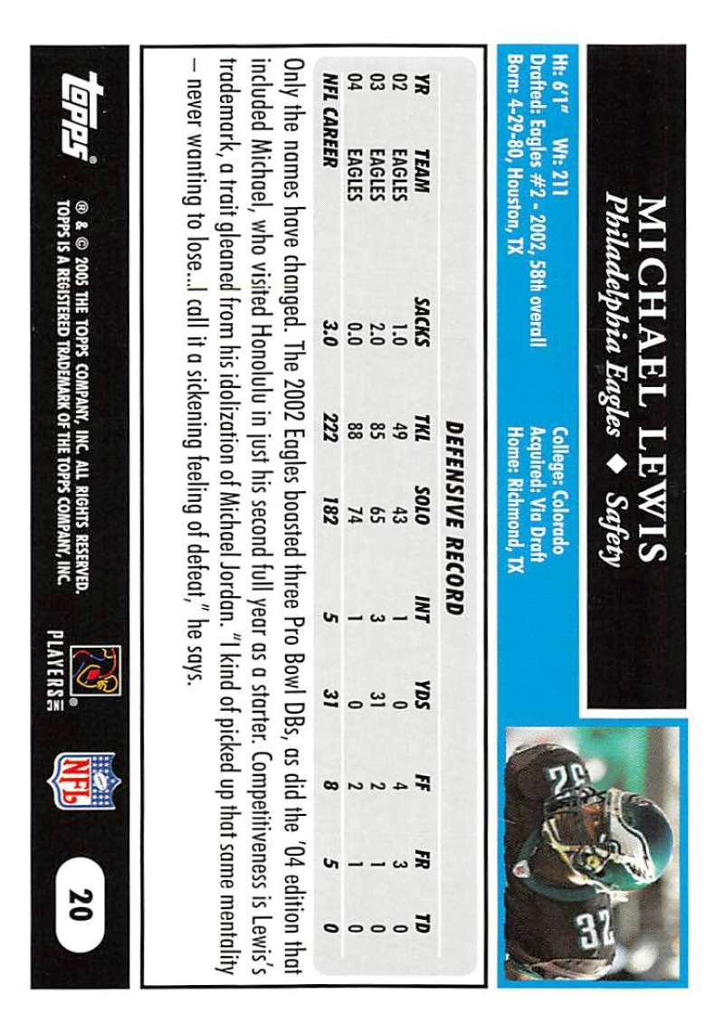 2005-Topps-NFL-Football-Cards-Pick-From-List-1-220 thumbnail 39