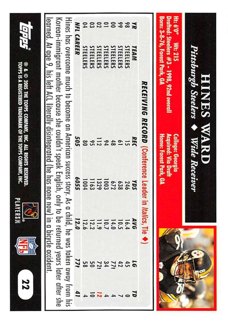 2005-Topps-NFL-Football-Cards-Pick-From-List-1-220 thumbnail 43