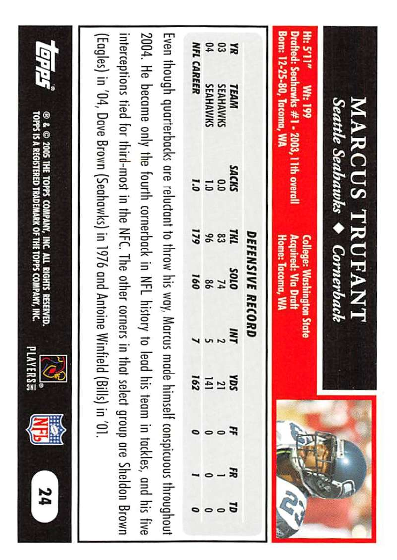 2005-Topps-NFL-Football-Cards-Pick-From-List-1-220 thumbnail 45
