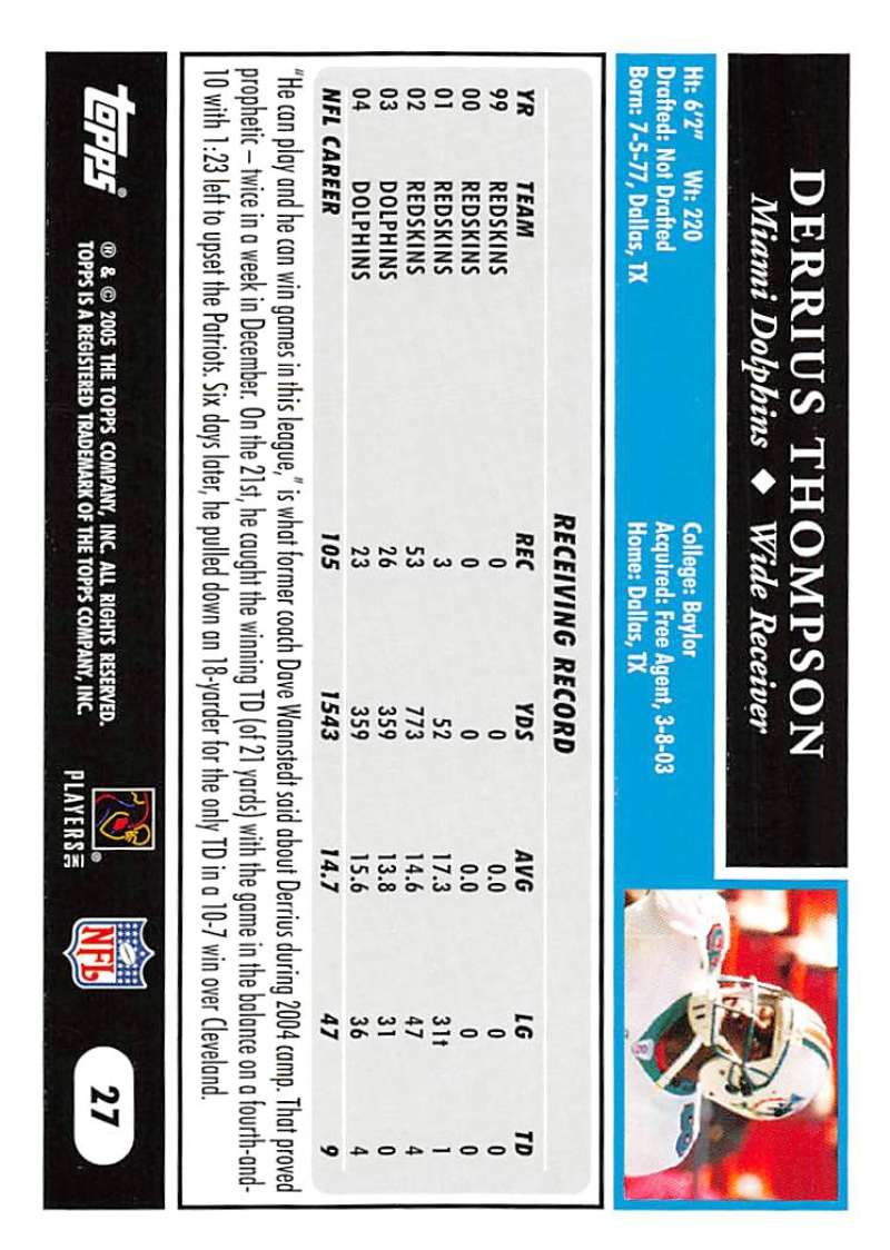 2005-Topps-NFL-Football-Cards-Pick-From-List-1-220 thumbnail 49