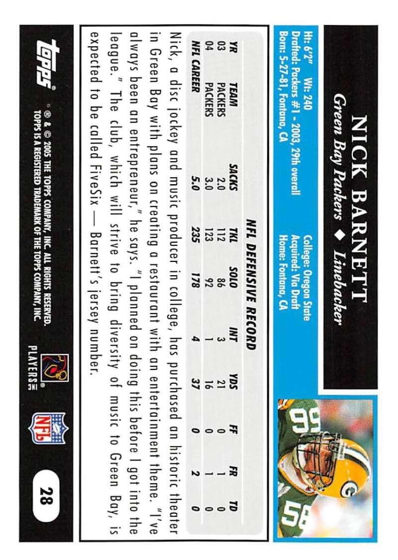 2005-Topps-NFL-Football-Cards-Pick-From-List-1-220 thumbnail 51