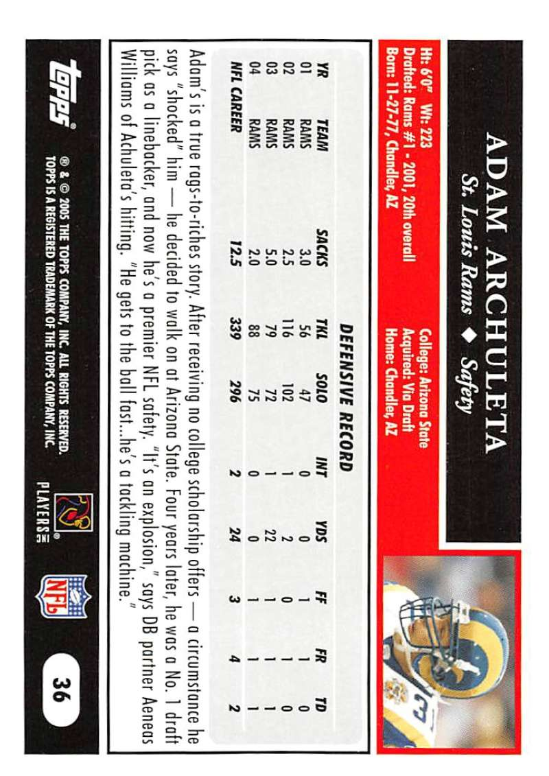 2005-Topps-NFL-Football-Cards-Pick-From-List-1-220 thumbnail 65
