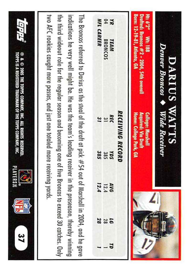 2005-Topps-NFL-Football-Cards-Pick-From-List-1-220 thumbnail 67