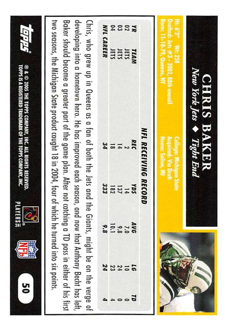 2005-Topps-NFL-Football-Cards-Pick-From-List-1-220 thumbnail 89